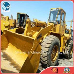 Max-3m3-Bucket Used Cat (950E) Wheel Loader with Front-Bucket for Uganda pictures & photos