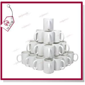 11oz Sublimation Reinforce Porcelain White Mug with Company Logo pictures & photos