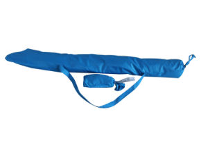 Beach Umbrella with 160g Polyester Fabric Upf50+, High Quality with Two Windows pictures & photos