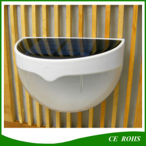 6 LED Solar Small Outdoor Garden Wall Light Outdoor Solar Lightings with Motion Sensor pictures & photos