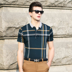 High Quality Gentle Men Polo Shirt Sports Wear Golf Clothes pictures & photos