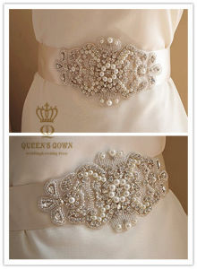 2015 Bridal Dress Rhinestone Adhesive Belt, Factory Direct