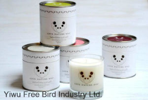 3 Pieces Scented Soy Wax Jar Candle Set pictures & photos