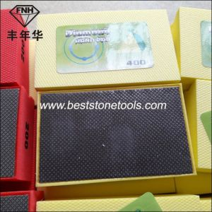 HD-1 Diamond Hand Electroplated Polishing Pad for Stone Glass (90X55mm) pictures & photos