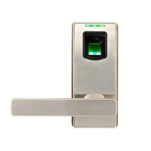 Zinc Alloy Metal Biometric Fingerprint Scanner Door Lock pictures & photos