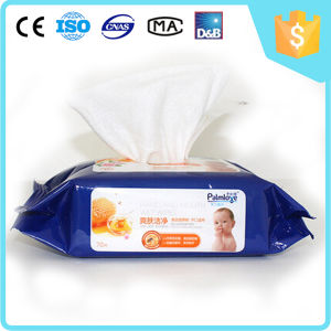 Flushable Non-Woven Baby Cleaning Wet Wipes pictures & photos