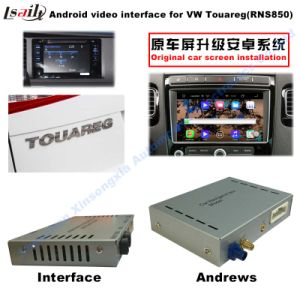 "1080P Android Multimedia GPS Navigation Video Interface for (10-16) VW 8""Touareg pictures & photos"
