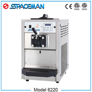Chinese Mini Yogurt Commercial Soft Ice Cream Machine for Sale pictures & photos