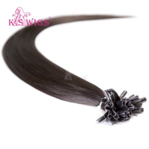 High Class Keratin Hair Extension Human Remy Hair pictures & photos