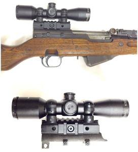 Vector Optics 4X32 Sks Compact Hunting Rifle Scope with Mount pictures & photos