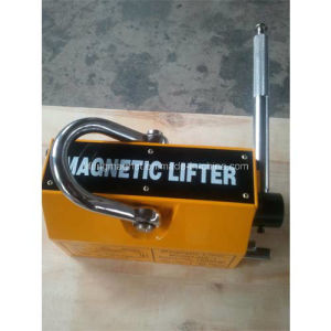 Permanent Lifting Magnet Supplier Operated by Hand pictures & photos