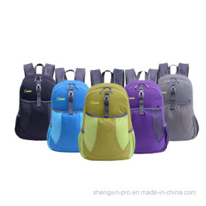 Foldable Super Light Back Pack with Two Shoulders for Adult