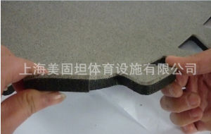 1m*1m Interlocking Compound Rubber Mat