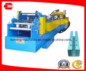 C Shape Purlin Machine with Pre-Cutting and Pre-Punching pictures & photos