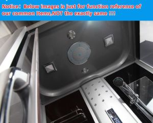 Multi-Functional Jacuzzi Steam Massage Shower Cabin (BLS-9845 GREY) pictures & photos