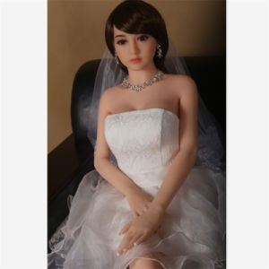 Lovely Bride Slim Built Nice Breast Lifelike Sex Doll (163cm)