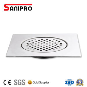 10*10cm Floor Drain Stainless Steel 304 Square Shower Drain Floor Drain Bathroom Easy Clean Good Quality Washing Machine pictures & photos