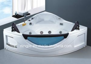 Sanitary Ware Bathroom Bathtub Massage Tub Acrylic Bathtub (Nj-3006) pictures & photos