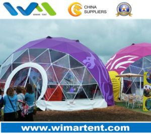 Latest Design Large Geodesic Dome Tent pictures & photos