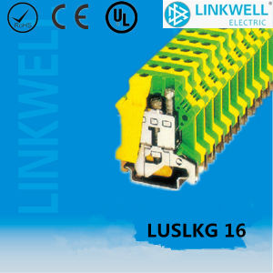 DIN Rail Euro Terminal Block (LUSLKG16) pictures & photos