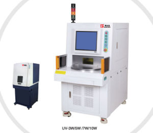 PE Plastic Precisely Laser Marking Machine pictures & photos