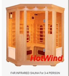 Wooden Far Infrared Sauna Room/Indoor Sauna Steam Room /Infrared SPA Sauna Room Manufacturer pictures & photos