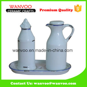 Porcelain Ceramic Oil and Vinegar Bottle Made in China Factory pictures & photos