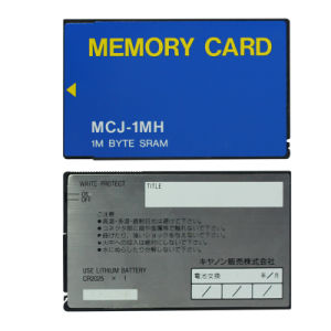 1MB ATA Flash PC Card with Battery 1m Byte Sram ATA Memory Card pictures & photos
