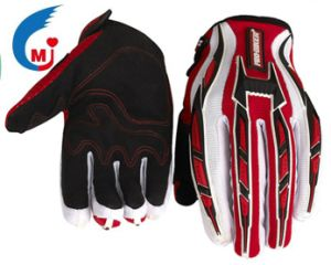 Motorcycle Accessories Motocross Glove of Imitation Microfiber pictures & photos
