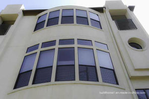 Energy Efficient Aluminium Glass Windows with Thermal Break Frames pictures & photos