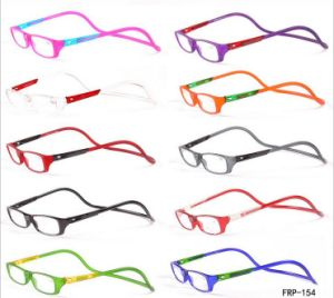 Hot Sale Reader Good Quality Plastic Magnetic Reading Glasses pictures & photos
