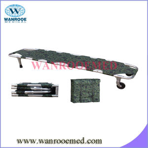 Folding Stretcher with Backpack in Army pictures & photos