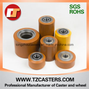 PU Roller with Cast Iron Rim 80*100 pictures & photos