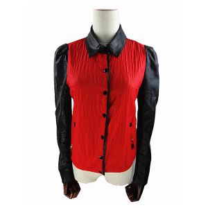Ladies Shirt Red Jacket Clasical Designer Women Shirts