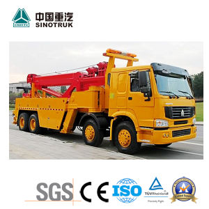 Hot Sale HOWO Road Wrecker of 8X4 pictures & photos