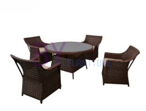 Leisure Patio Classic Rattan Dining Furniture Set pictures & photos