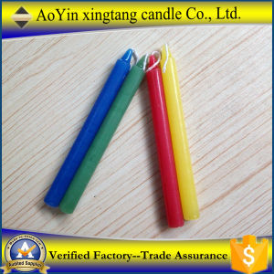 Hot Sale Paraffin Oil Candles White Flameless Candles pictures & photos