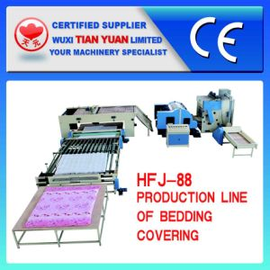 High Quality Bedding Covering Production Line pictures & photos