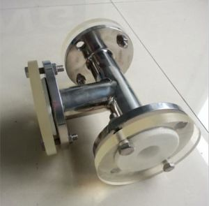 PTFE Lined Equal Tee for Chemical Industry (Stainless Steel)