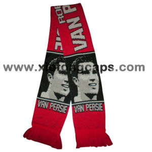 New Fashion Football Fans Knitted Scarf pictures & photos