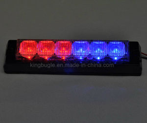 Fire Truck Tir 6W Amber LED Warning Headlight (GXT-6 amber) pictures & photos