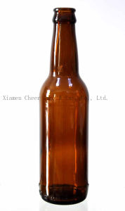330ml Amber Color Glass Beer Bottle Pj330-1855 pictures & photos