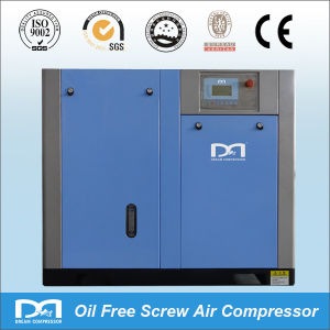 Oil Less Oil Free Rotary Screw Type Air Compressor for Instrument pictures & photos