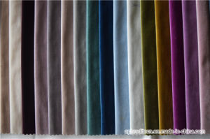 100% Polyester Cheap Bright Silk Fabric for Sofa pictures & photos
