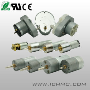 DC Gear Motor D482 Series with Cutting Gears pictures & photos