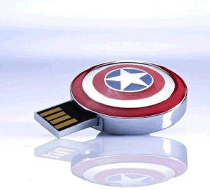 Avengers Series Captain America USB Flash Drive 16GB pictures & photos