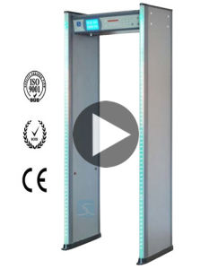 LCD Door Frame Walk Through Metal Detector Gate (XLD-B(LCD)) pictures & photos