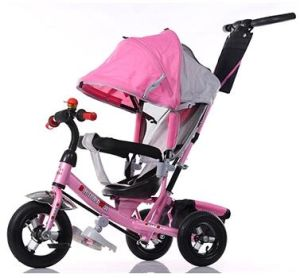Kids Pedal Tricycle Baby Tricycle with Cnopy pictures & photos