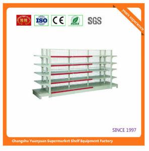 Double Sides Five Tier Metal Supermarket Shelf 080411 pictures & photos