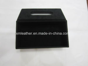 Hotel Restaurant Leather Facial Tissue Paper Holder Napkin Box pictures & photos